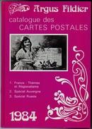 Fildier Argus 1984 Catalogue Cpa Anciennes état Superbe - Boeken