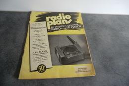 Revue Radio Plans - XXI° Année N°77 - Mars 1954 - - Television