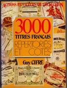 Catalogue Titres Et Actions Français De Collection Cifré 1985 Bon état - Azioni & Titoli