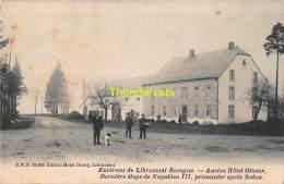 CPA ENVIRONS DE LIBRAMONT RECOGNE ANCIEN HOTEL OLIVIER DERNIERE ETAPE NAPOLEON III PRISONNIER APRES SEDAN - Libramont-Chevigny