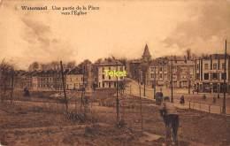 CPA  WATERMAAL WATERMAEL UNE PARTIE DE LA PLACE VERS L'EGLISE - Watermael-Boitsfort - Watermaal-Bosvoorde