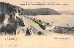 CPA LA GILEPPE LE BARRAGE ET LE LAC NELS SERIE 98 NO 2 - Gileppe (Barrage)