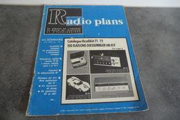 Revue Radio Plans - N°286 - Septembre 1971 - - Television