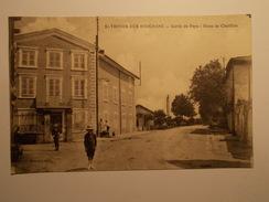 Carte Postale - TRIVIER SUR MOIGNANS (01) - Sortie Du Pays Route De Chatillon (322/130) - France