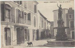 34  Pomerols  Place De La Mairie - France