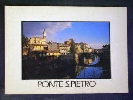 LOMBARDIA -BERGAMO -PONTE SAN PIETRO -F.G. LOTTO N°593 - Bergamo