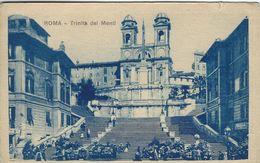 Roma - Trinita Dei Monti.    Italy  S-3937 - Roma (Rome)