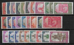 SOUDAN - YVERT N° 60/88 **/* CHARNIERE LEGERE OU SANS CHARNIERE - COTE = 40+ EUROS - Unused Stamps