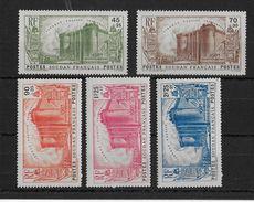 SOUDAN - YVERT N° 105/109 ** SANS CHARNIERE - COTE = 112.5 EUROS - Soudan (1894-1902)