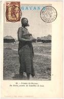 CONGO FRANCAIS Et Dépendances - Femme Du Bornou Les Lèvres Ornées De Lamelles De Bois   (Recto/Verso) - Congo Français - Autres
