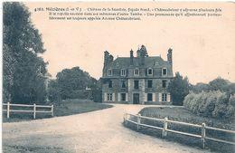 Cpa 35  Chateau De La Scardais - Francia