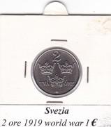 SVEZIA   2 ORE  ANNO 1919  COME DA FOTO - Svezia