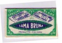 LAMETTA DA BARBA - LAMA BRUNA -  1940 POCO COMUNE - Lamette Da Barba