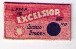 LAMETTA DA BARBA - LAMA EXCELSIOR -  1930 RARA - Lamette Da Barba