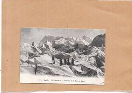 CHAMONIX MONT BLANC - 74 - Traversée De La Mer De Glace - LYO1 - - Chamonix-Mont-Blanc