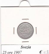 SVEZIA   25 ORE  ANNO 1907  COME DA FOTO - Svezia