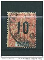 Colonie Timbres D'anjouan De 1912  N°26  Oblitérés - Anjouan (1892-1912)