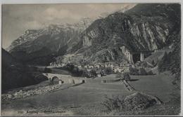 Amsteg - Generalansicht - Gotthardbahn - Photo: Wehrli - UR Uri