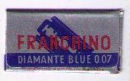 LAMETTA DA BARBA - FRANCHINO BLUE  -  ANNO 1950 - Lamette Da Barba