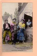 Cpa Cartes Postales Ancienne - Escenas Gitanas - Espagne