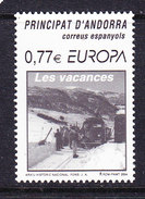 Europa Cept 2004 Andorra Sp. 1v ** Mnh (36829) @ Face Value - Europa-CEPT