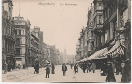 MAGDEBURG DER BREITEWEG - Magdeburg