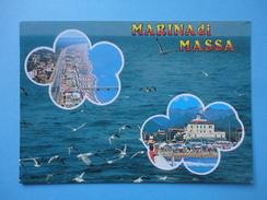 Marina Di Massa - Massa Carrara - Mare - Vedutine Spiaggia E Alberghi - Massa