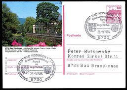 82826) BRD - P 138 - Q2/19 - Ortsgleich OO Gestempelt - 8730 Bad Kissingen, Regentenbau - BRD
