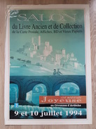 Affiche - Joyeuse Cévennes D'Ardéche, Salon De Cartes Postales, Affiches, BD Et Vieux Papiers, Livres Ancien - Posters
