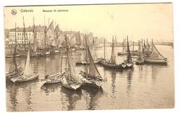 Prentkaart Ostende Oostende Uitgeverij Nels  Onbeschreven Bateaux Boten - Oostende
