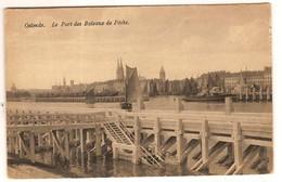 Prentkaart Ostende Oostende Uitgeverij Lebon  Onbeschreven Bateaux Boten - Oostende