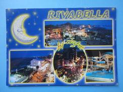 Rivabella - Rimini - Baci - Vedutine Vita Notturna - Brillantinata - Rimini