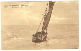 Prentkaart Ostende Oostende Uitgeverij Dohmen  Onbeschreven Bateaux Boten - Oostende