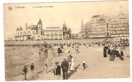 Prentkaart Ostende Oostende Uitgeverij édition Nels  Onbeschreven Kursaal Et Plage - Oostende
