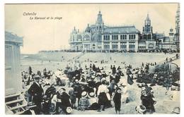 Prentkaart Ostende Oostende Uitgeverij édition V.G.  Onbeschreven Kursaal Et Plage - Oostende
