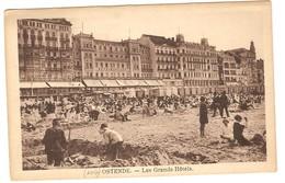 Prentkaart Ostende Oostende Uitgeverij édition Le Bon  Onbeschreven La Plage Et Hôtels - Oostende