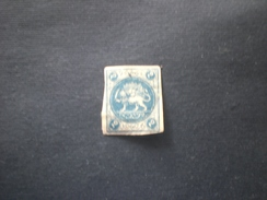 IRAN PERSIA إيران PERSIE 1875 Coat Of Arms Leon Numbers Deformed MHL - Iran