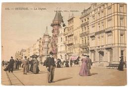 Prentkaart Ostende Oostende Uitgeverij édition V.G.  Onbeschreven La Digue Et Hôtels - Oostende