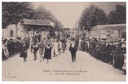 62 - ARRAS . Cortège Historique Du 17 Juillet 1910 . Louis IX - Réf. N°4235 - - Arras