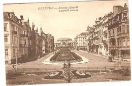 Prentkaart Ostende Oostende Uitgeverij édition C.D.  Onbeschreven Avenue Léopold - Oostende