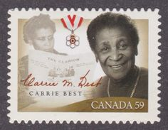 CANADA, 2011, # 2433i, BLACK HISTORY MONTH: CARRIE BEST, Die Cut From Quartely Pack - Carnets