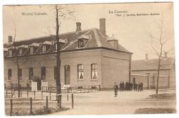 Hoogstraten Wortel Colonie De Kazerne Beschreven Stempel Hoogstraeten 1907  2 Scans - Hoogstraten