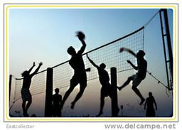 Postal Stationery Card Volleyball Pre-stamped Card 0638 - Volleyball