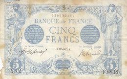 Billet 5 F Bleu Du 16-11-1915 FAY 2.33 Alph. F.8838 - 1871-1952 Anciens Francs Circulés Au XXème