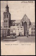 SOUVENIR DE TIRLEMONT - EGLISE St GERMAIN  - Geanimeerd - Tienen