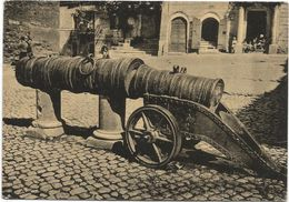 Z4733 Rignano Flaminio (Roma) - Antica Bombarda Del Borgia / Viaggiata 1956 - Altre Città