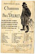 CHANSON DE PAUL DELMET  PETIT CHAGRIN    ILLUSTRATION A VILLETTE - Song Books