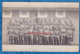 CPA Photo - ROMANS Sur ISERE - Portrait De Militaire Du 75e Régiment - 1920 - Signé Baptiste Bonfils - Romans Sur Isere