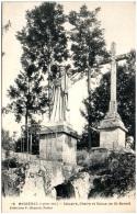 44 MASSERAC - Calvaire, Chaire Et Statue De St-Benoit   (Recto/Verso) - Francia