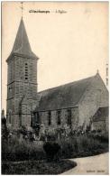 14 CLINCHAMPS - L'église   (Recto/Verso) - Autres Communes